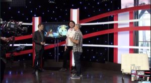 (C) E3 2015- The Banner Saga 2 with E3 Host Geoff Keighley and STOIC Games members John Watson & Arnie Jorgensen.